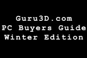 Guru3D PC Buyers Guide Winter 2017 – Introducing The Bit, The Nibble, The Byte & The Megabyte