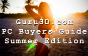Guru3D PC Buyers Guide Summer 2018 – Introducing The Bit, The Nibble, The Byte & The Megabyte